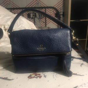 Small Navy Marla Crossbody